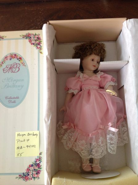 Morgan Britney Collection Porcelain Doll