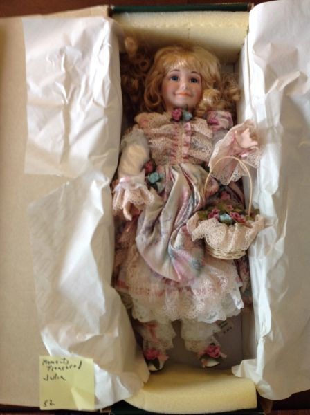 Moments Treasured Judie Porcelain Doll