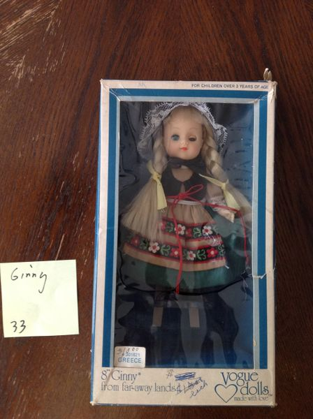 "8"" Ginny Vogue Doll"