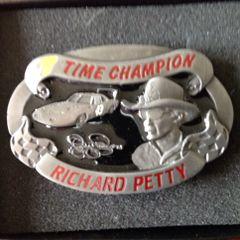 Richard Petty Belt Buckle Limited Edition