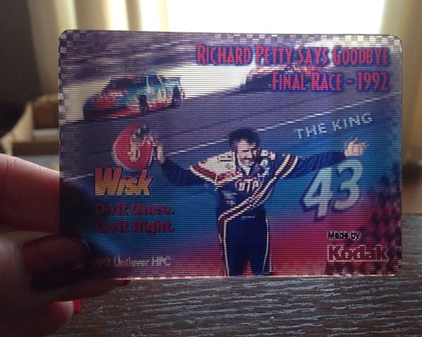Richard Petty Holographic Card 1999