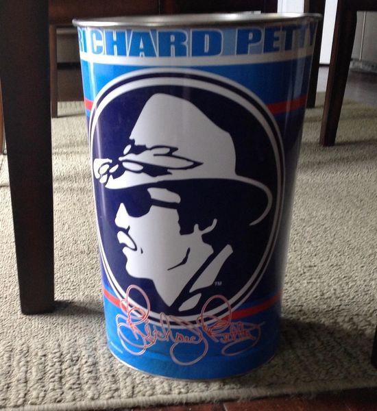 Vintage Richard Petty Trash Can