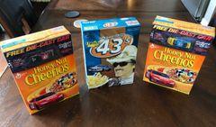 Richard Petty Collectible Cheerios Boxes