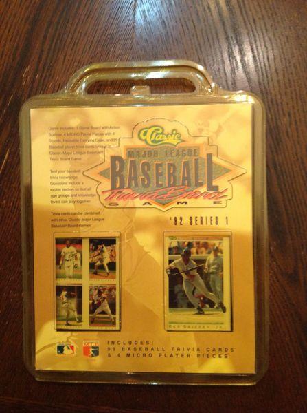 Classic Major League Baseball Trivia Board Game '92 Series #1 Vintage