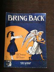 Vintage Sheet Music Bring Back Those Wonderful Days