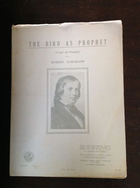 1930's Vintage Sheet Music The Bird As Prophet