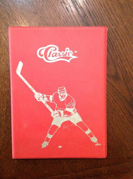 Hockey Card Holder