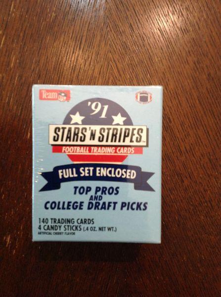 Stars'N Stripes Fotball Trading Cards