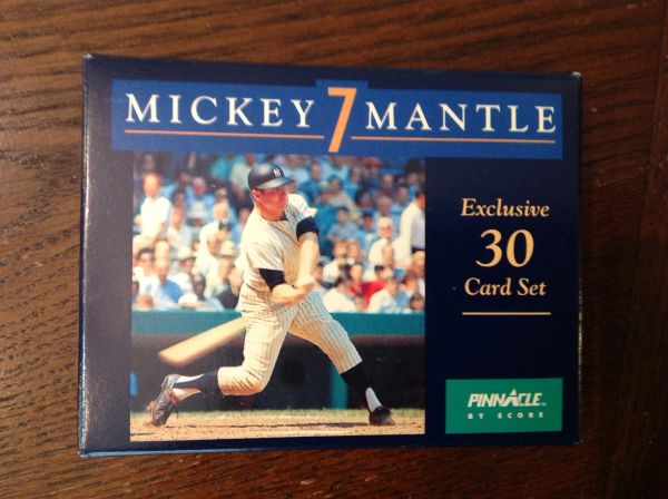 1992 Vintage Mickey Mantle Exclusive 30 Card Set