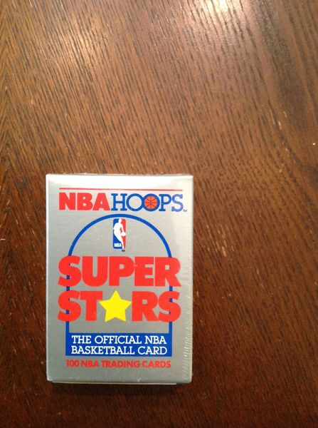 NBA HOOPS SUPER STARS BASKET BALL CARDS 1990