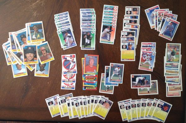 Baseball Card Collection (over 100 Cards)
