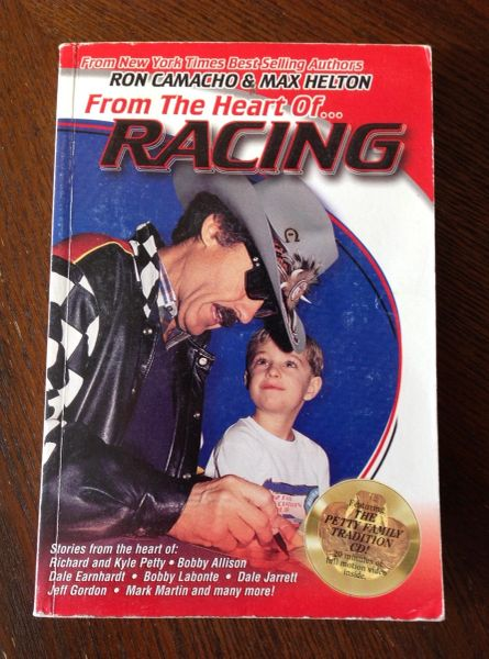 Richard Petty From The Heart Of Racing Book and CD collection