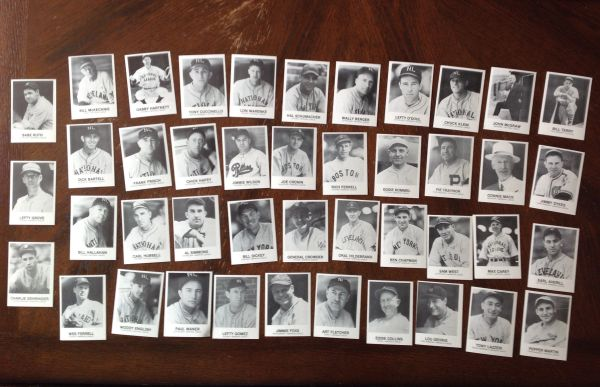 Mack And Me American League All Star Game 1933 Card Collection