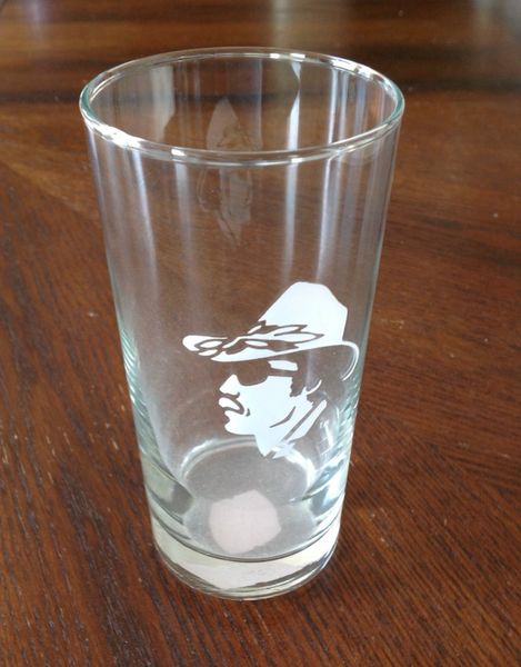 Richard Petty Collectable Tall Glass and Shot Glass