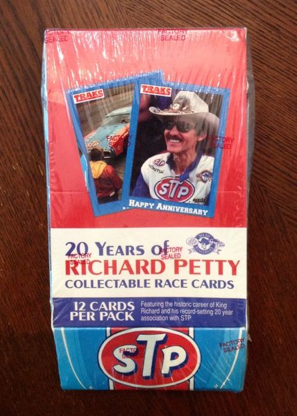 20 YEARS of RICHARD PETTY COLLECTABLE RACE CARDS