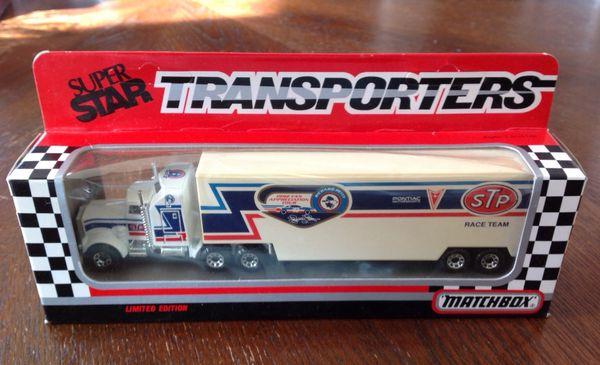 Richard Petty Matchbox Superstar Transporter