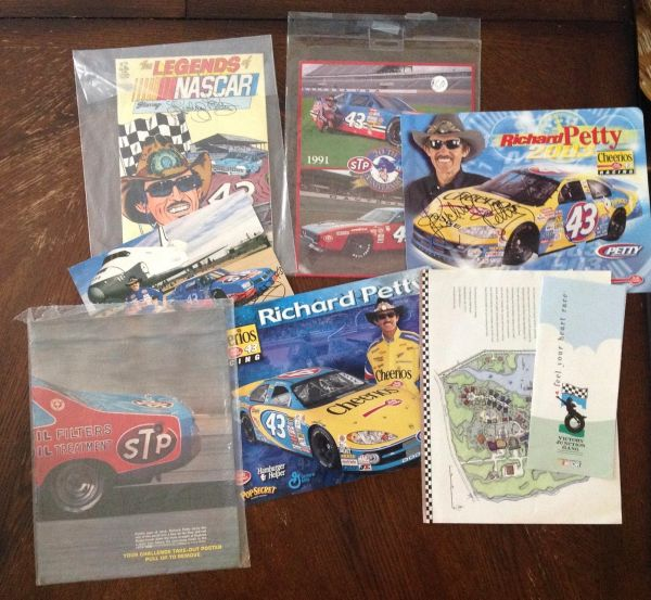 Collectable Richard Petty Signed Memorablia
