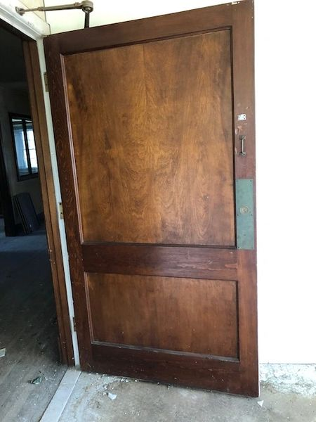 "Antique Door | 46"" wide x 84"" tall"