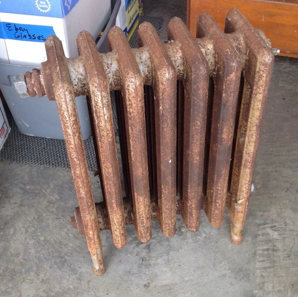 Antique Radiator Register Heater