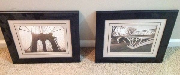 Framed Prints of Two bridges