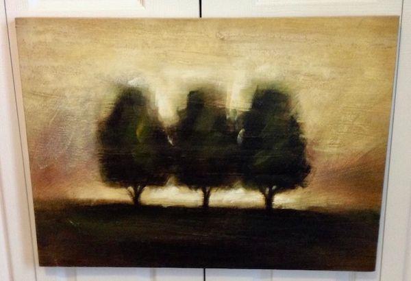 WALL ART THREE TREES