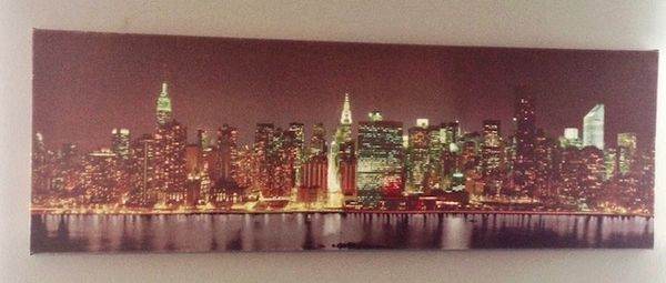 New York City Skyline Wall Art
