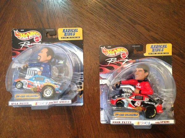 Hot Wheels Kyle and Adam Petty