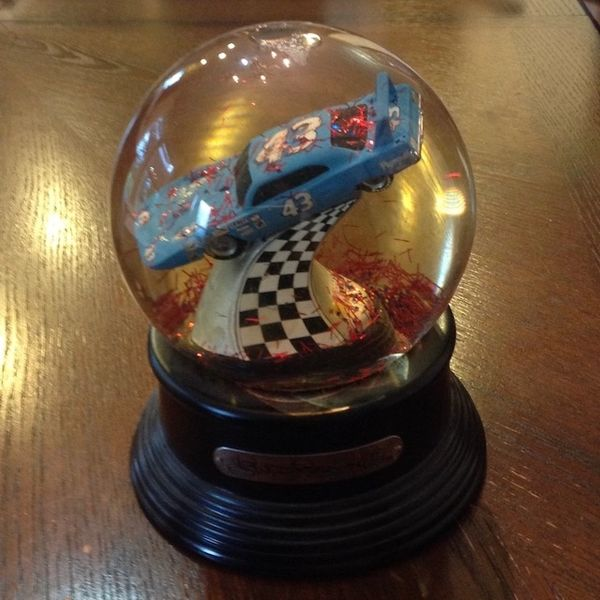 Collectable Richard Petty Snowglobe #43