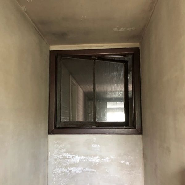 Antique Swivel Window