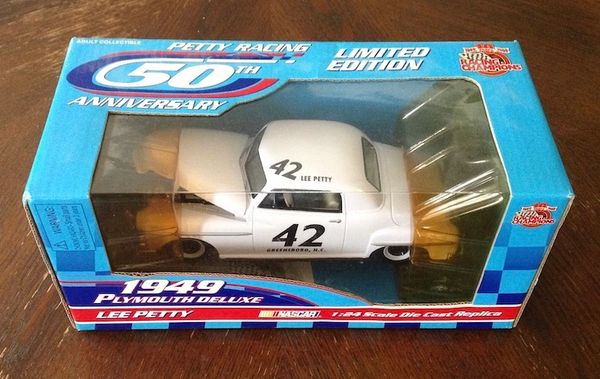 Limited Edition 1949 Die Cast Car #42 Lee Petty