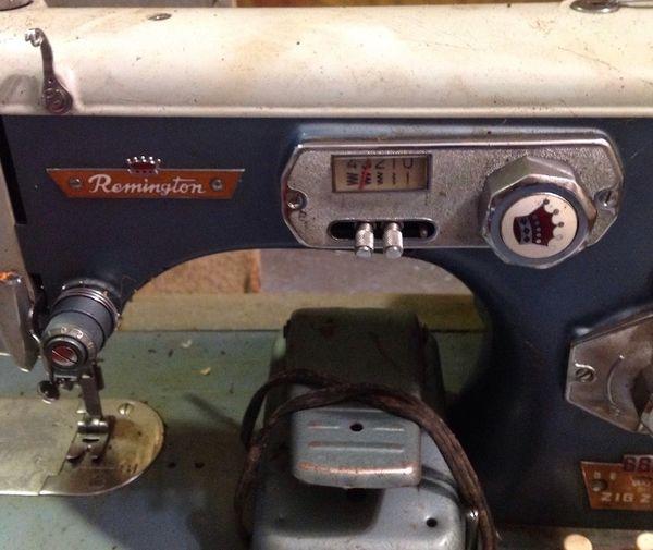 Antique Remington Delux Sewing Machine