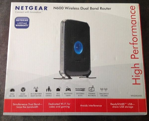 Net Gear Wireless Router N600