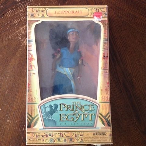 Tzipporah Doll from The Prince of Egypt Collection