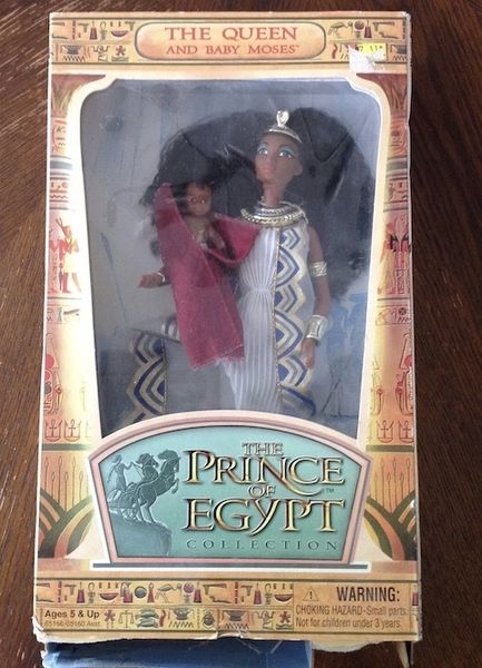 The Queen and Baby Moses from The Prince of Egypt Collection