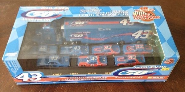 Richard Petty 50th Anniversay Collectable Car Set