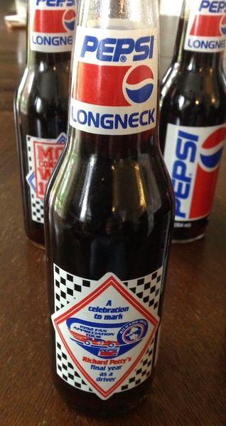 Richard Petty Commemorative Longneck Bottle Collection