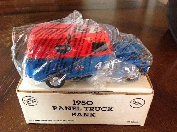 Richard Petty 1950 Panel Truck Coin Bank
