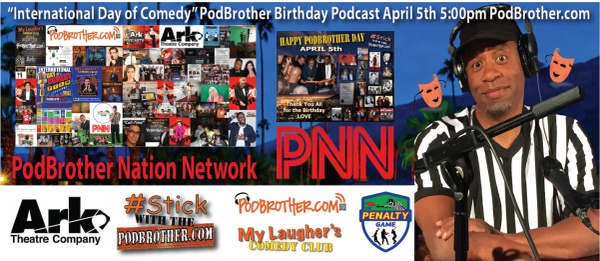 """PodBrother Birthday Fund-Raiser April 1-30, 2020"