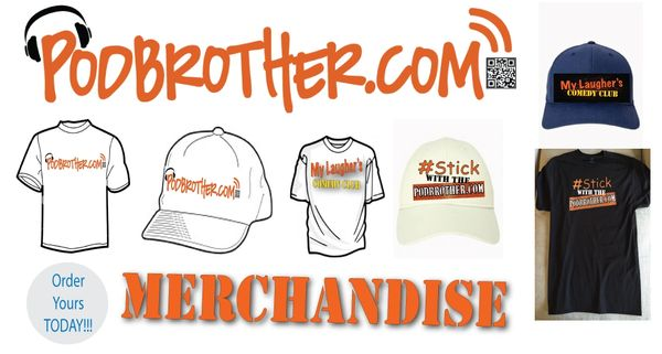 #StickwiththePodbrother Merchandise