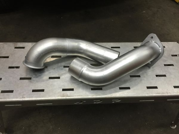 SDP 6.7 S400 Single Turbo Down Pipe