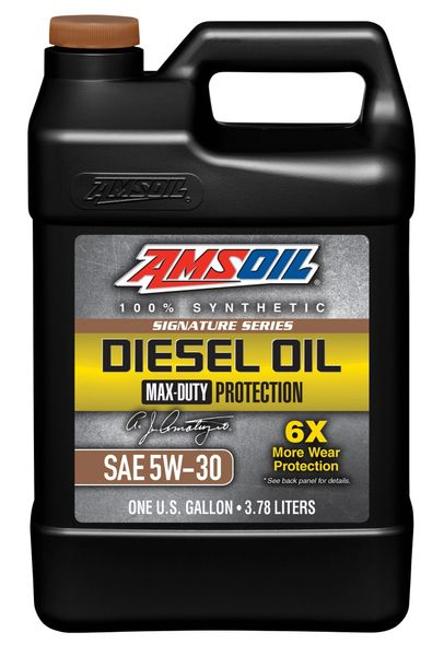 AMSOIL Signature Series Max-Duty Synthetic Diesel Oil 5W-30 (DHD)