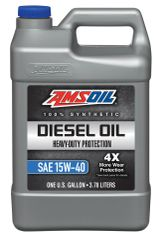 AMSOIL Heavy-Duty Synthetic Diesel Oil 15W-40 (ADP)
