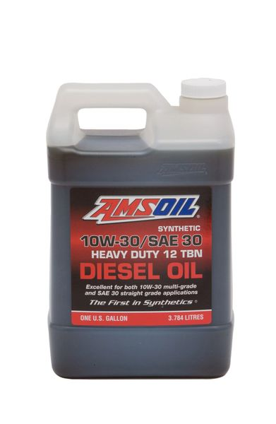 AMSOIL 10W-30/SAE 30 Synthetic Heavy-Duty Diesel Oil (ACD)