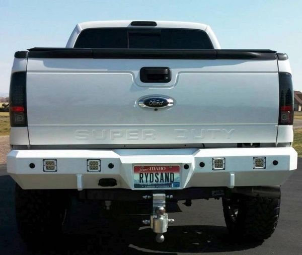 Fusion Bumpers Ford Super Duty Rear 2008 - 2016