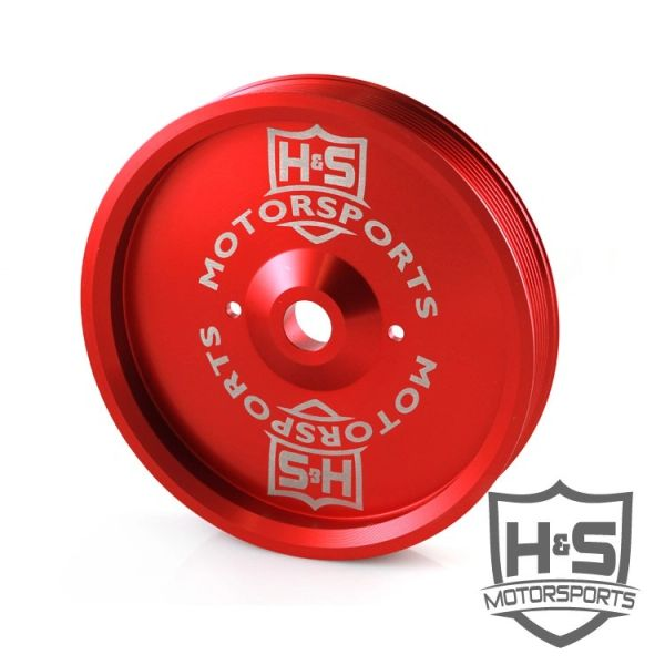 H&S Motorsports Ford Dual Cp3 Pulley