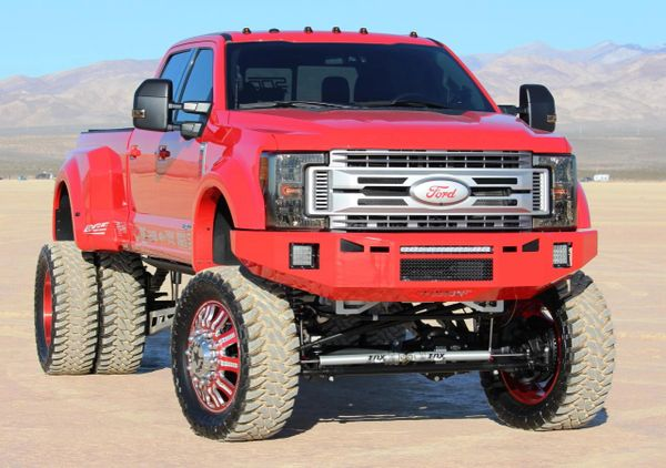 Fusion Bumpers 450 Ford Super Duty Front 2017