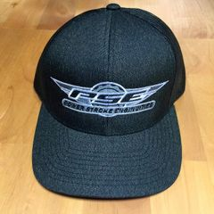 Trucker Heather Black Snap Back