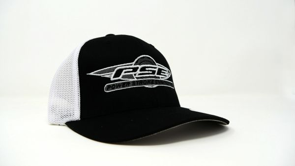 FlexFit Trucker Hat White