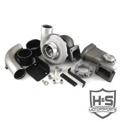 2008-2010 Ford 6.4L H&S Motorsports Single Turbo Kit