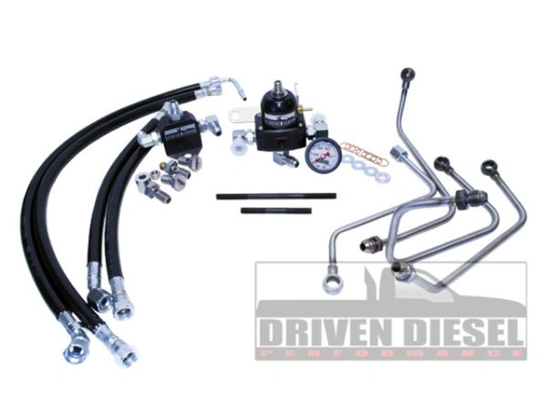 6.0 2003-2007 Driven Diesel Fuel Bowl Delete Regulated Return Fuel System Kit